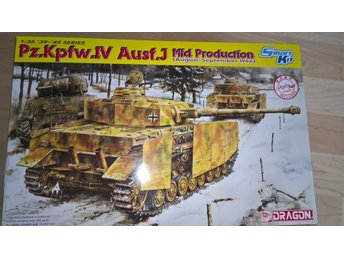 Dragon, Pz.Kpfw. IV Ausf. J Mid Production w/Magic Tracks