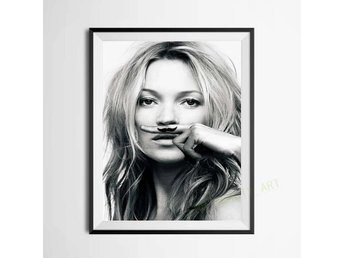 Kate Moss life is a joke poster . Ny!