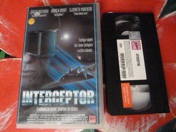INTERCEPTOR, VHS, FILM, ACTIONTHRILLER, 90 MIN.