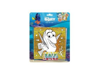 Hitta Doris - Finding Dory Kit Foiled art set - Folieset, färgade bilder & färg