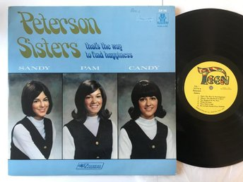 "12"" PETERSON SISTERS (JOHN W. PETERSON) TEEN USA !!!RARE!!!"