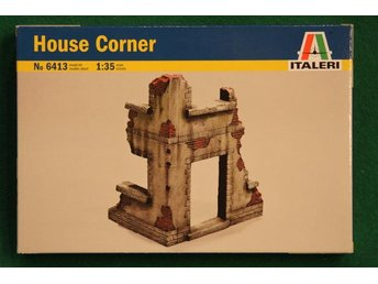 Italeri 1/35 German House corner