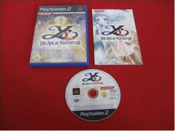 YS THE ARK OF NAPISHTIM till Playstation 2 PS2 - Blomstermåla - YS THE ARK OF NAPISHTIM till Playstation 2 PS2 - Blomstermåla