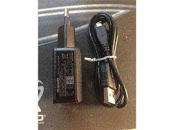 Laddare original Huawei svart 5.0v 1Ah HW-050100E2W med en svart micro-usb kabel - Bredaryd - Laddare original Huawei svart 5.0v 1Ah HW-050100E2W med en svart micro-usb kabel - Bredaryd