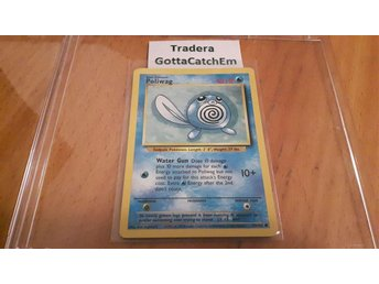 Pokémon kort: Poliwag 59/102 Base Set 1999 Nyskick NEAR MINT CONDITION 9/10 - Piteå - Pokémon kort: Poliwag 59/102 Base Set 1999 Nyskick NEAR MINT CONDITION 9/10 - Piteå
