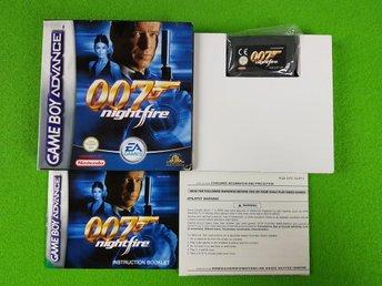 007 Nightfire KOMPLETT MYCKET FINT SKICK PAL Gameboy Advance - Hägersten - 007 Nightfire KOMPLETT MYCKET FINT SKICK PAL Gameboy Advance - Hägersten