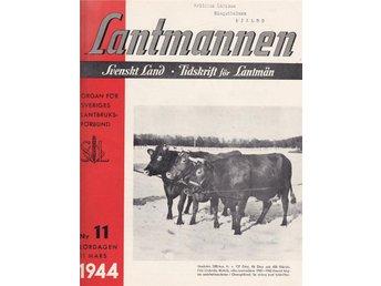 Lantmannen 1944-11 Årets Vårsäd Odling..Volvo Traktor Reklam - Järpås - Lantmannen 1944-11 Årets Vårsäd Odling..Volvo Traktor Reklam - Järpås