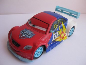Disney Pixar Cars Bilar Mcqueen metall Vitaly Petrov  Ice Racers Chaser 1:43 NY