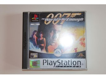 007 The World Is Not Enough - Playstation 1 / PS1 spel