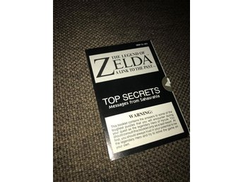 Zelda A Link To The Past - Top Secrets i fint skick! *FRI FRAKT*