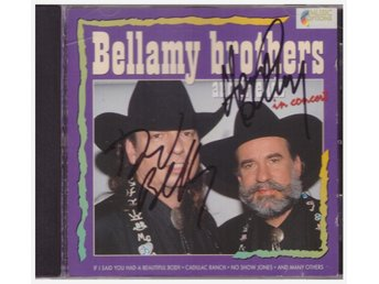 BELLAMY BROTHERS AND FRIENDS   SIGNERAD      CD