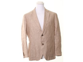 Bläck, Kavaj, Tailored fit, Strl: 50, Beige