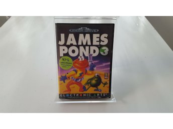 James Pond 3 - Sega Mega Drive KOMPLETT