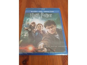 Ny! Harry Potter och dödsrelikerna del 2. Blue-Ray dvd.