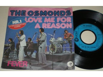 Osmonds 45/PS Love for a reason 1974