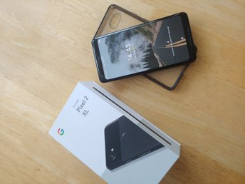 Google Pixel 2 XL 64GB svart 49d0b24b7d6a0
