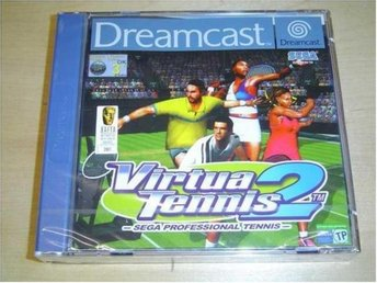 VIRTUA TENNIS 2 SEGA DREAMCAST *NYTT*