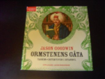 CD-bok: Ormstenens gåta - Jason Goodwin