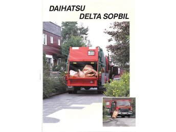 Daihatsu Sopbil försäljningsbroschyr - Lomma - Daihatsu Sopbil försäljningsbroschyr - Lomma
