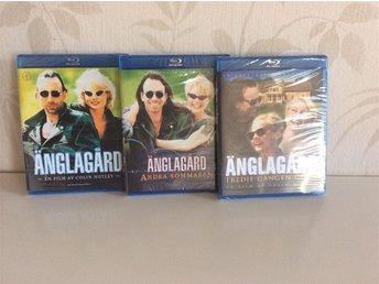Änglagård - Alla tre filmerna (Blu-ray). Nya, inplastade. - Göteborg - Änglagård - Alla tre filmerna (Blu-ray). Nya, inplastade. - Göteborg