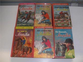 12 stycken böcker med Annika - Anna Lisa Almqvist - Västervik - 12 stycken böcker med Annika - Anna Lisa Almqvist - Västervik