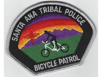 Tygmärke polis santa ana indian/tribal cykelpolis - Mjölby - Tygmärke polis santa ana indian/tribal cykelpolis - Mjölby