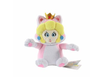 Princess Peach Mario Bros 3D World Plush Doll Gosedjur Mjukisdjur - Samut Prakan - Princess Peach Mario Bros 3D World Plush Doll Gosedjur Mjukisdjur - Samut Prakan