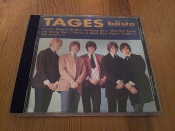 TAGES - TAGES BÄSTA (16-TRACK CD)