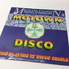 "LP-Maxi-Singel Michael Jackson ""Mowtown Disco - Farewell my summerlove/Call on.."