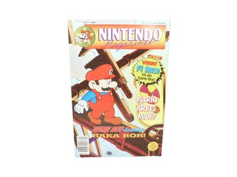Nintendo Magasinet 9 1991 med Power Play bilaga