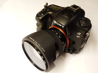 Sony Alpha A99 24.3MP Digital SLR Fullformat med  Tokina 19-35mm f3.5-4.5