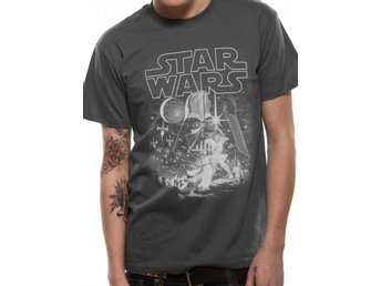 STAR WARS - CLASSIC NEW HOPE (UNISEX)  T-Shirt - Large