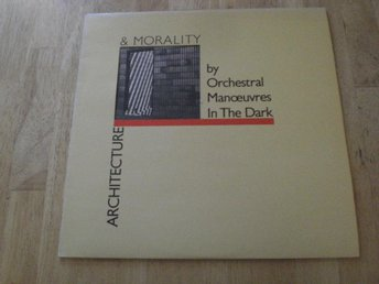O.M.D. - Architecture & Morality (Die-Cut Cover)
