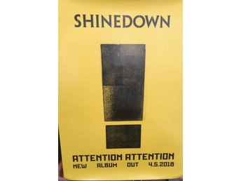 Poster Shinedown Attention Attention
