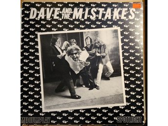 Dave And The Mistakes - Dave And The Mistakes, LP
