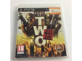 playstation 3, PlayStation-spel, Army of two, the 40th day