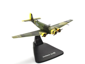 Atlas Editions Luftwaffe Junkers Ju-52 - 1/144 scale - 1-kronas!