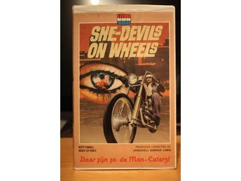 She-Devils On Wheels - Big Box, Dutch, VUH, VHS