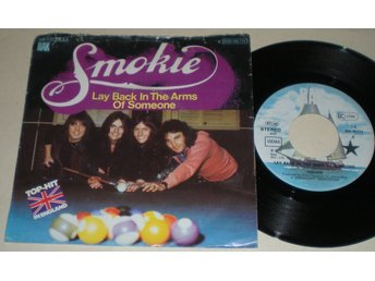 Smokie 45/PS Lay back in the arms of someone 1977 M-