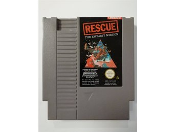 Rescue The Embassy Mission NES Nintendo PAL