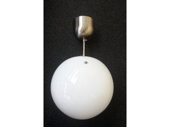 Annons på Tradera: Klotlampa taklampa lampa ikeas fado retro