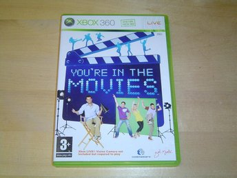YOURE IN THE MOVIES XBOX 360 *NYTT*