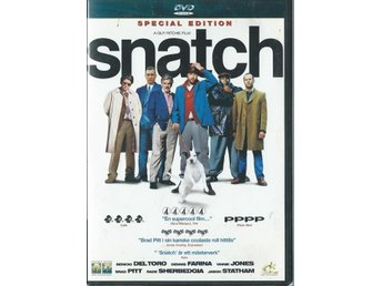 SNATCH - SPECIAL EDITION - BRAD PITT   ( SVENSKT TEXT )