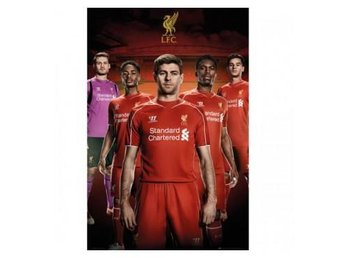 Liverpool Affisch Players 17
