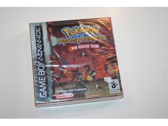 POKEMON MYSTERY DUNGEON RED RESCUE TEAM GBA NYTT