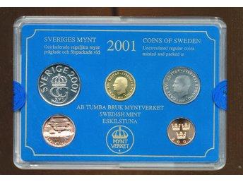 2001 Hp Myntset Från myntverket - Västra Frölunda - 2001 Hp Myntset Från myntverket - Västra Frölunda