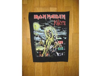 Iron Maiden - Killers - Backpatch Ryggmärke