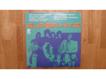 VARIOUS - LP - SUPER HITS - DIVERSE ROCK 1978!!!