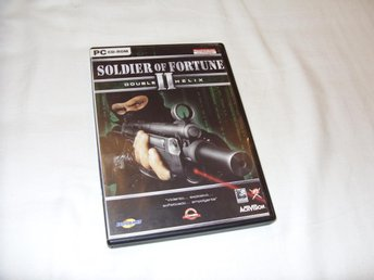 Soldier of Fortune PC CD ROM action spel Activision