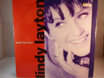 LINDY LAYTON - WAIT FOR LOVE  (MAXI SINGLE -VINYL)
